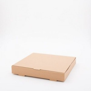 12 Inch Compostable Kraft Brown Pizza Box