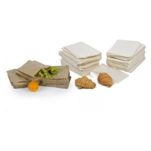 Brown Kraft / White Greaseproof Paper Food Bags
