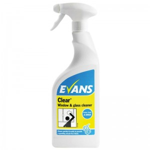 Evans Clear - Window, Glass, Stainless Steel Cleaner