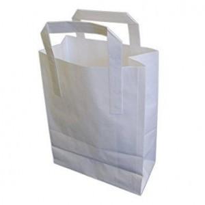Medium White SOS Bags
