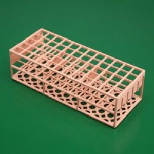 PINK POLYSTYRENE TEST TUBE RACK