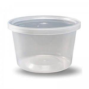Round Microwaveable Food Containers