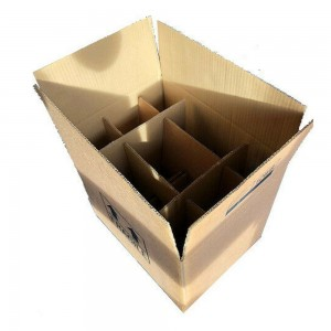 Wine Bottle Cardboard Box