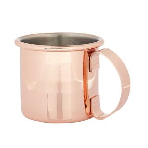 Copper Straight Jigger Mug