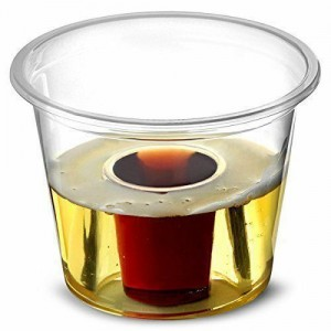 Disposable Plastic Jager Bomb Shot Glass