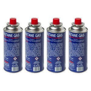 Butane Gas Canisters and Blow Torches
