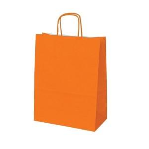 Orange Paper Bags