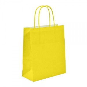 Yellow Paper Bags