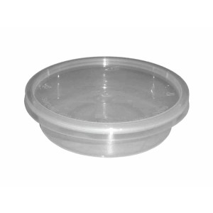 8oz Round Plastic Microwave Containers