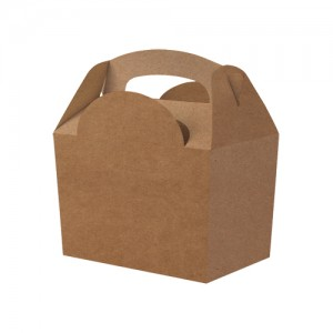 Kraft Brown Party Meal Box