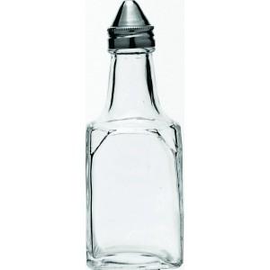 Square Vinegar Bottle Stainless Steel Top