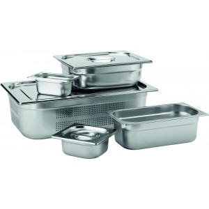 Stainless Steel GN 1/3 Handled Lid