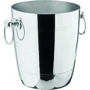 """Aluminium Wine Bucket 7.5"""" (20cm) H: 8.5"""" (22cm)"""