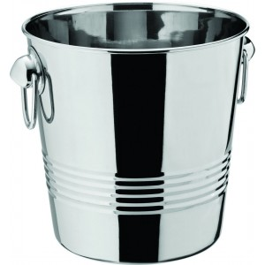 "Tulip Ring Handled Wine Bucket 8.5"" (22cm)"