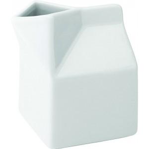 Titan Ceramic Milk Carton 10.5oz (30cl)
