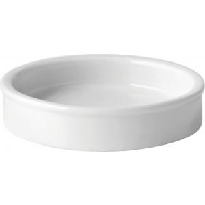 """Titan White Tapas Dish 4"""" (10cm)"""