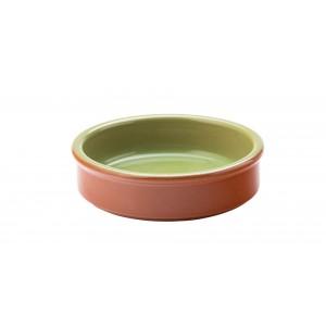 "Tapas Green Dish 4"" (10cm)"