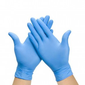 Large Blue Nitrile Gloves