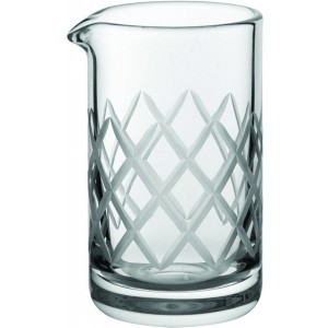 Mini Empire Mixing Glass 6oz (17cl) Etched