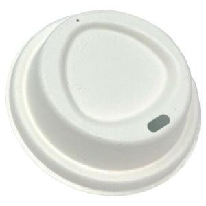 8oz Bagasse Pulp Coffee Cup Lid