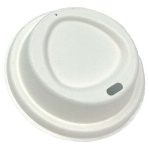 12oz Bagasse Pulp Coffee Cup Lid