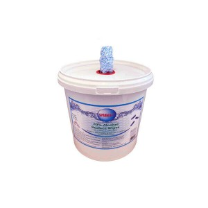 Tub of 500 70% Alcohol Surface Disinfectant Wipes
