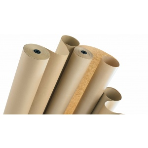 Brown Kraft Parcel Paper Rolls