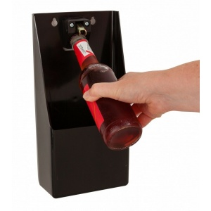 Bottle Opener Cap Catcher