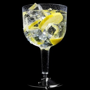Plastic Gin Cocktail Glasses